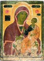 Иверская икона Божией Матери. Посл. четв. XVII в. (ГТГ)