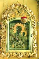 Грузинская икона Божией Матери. 2-я пол. XVII в. (Раифская Богородицкая пуст.)
