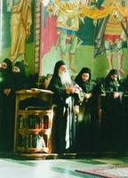 Монахи на клиросе (мон-рь Ксенофонт)