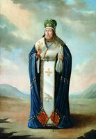 Свт. Иннокентий (Кульчицкий), еп. Иркутский. Икона. XIX в. (собор Знаменского мон-ря в Иркутске)