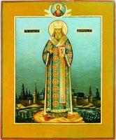 Свт. Иннокентий (Вениаминов), митр. Московский и Коломенский. Икона. Нач. XXI в. (частное собрание)