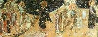 Проповедь св. Иоанна Предтечи. Роспись собора св. Апостолова (Старая Митрополия) в Верии. XIV в.