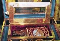Рака с десницей св. Иоанна Предтечи в ц. Рождества Пресв. Богородицы в Цетинском мон-ре, Черногория