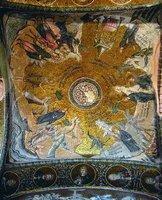 Проповедь св. Иоанна Предтечи и сцены жизни Иисуса Христа. Мозаика экзонартекса мон-ря Хора (Кахрие-джами) в К-поле. 1316-1321 гг.