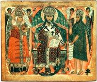 Предста Царица Икона. 2-я пол. XVII в. (ГМЗК)