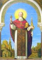 Прав. Иоанн Кронштадтский. Икона. 2008 г. (ц. ап. Иоанна Богослова подворья Леушинского мон-ря)