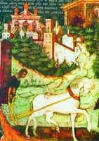 Обретение главы св. Иоанна Предтечи. Роспись ц. св. Иоанна Предтечи в Толчкове, Ярославль. 1694-1695 гг.