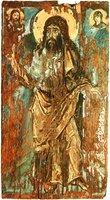 Св. Иоанн Предтеча. Икона. VI в. (?) (Музей искусств им. Б. и В. Ханенко, Киев)