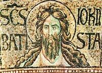 Св. Иоанн Предтеча. Мозаика баптистерия Сан-Джованни, Флоренция. 2-я пол. XIII в.