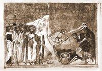 Обретение главы св. Иоанна Предтечи. Миниатюра из Минология Василия II. 1-я четв. XI в. (Vat. gr. 1613. P. 420)