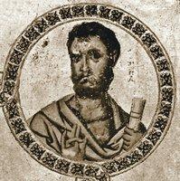 Прор. Иоиль. Миниатюра из Книги пророков. Кон. Х — нач. XI в. (Taurin. B. I. 2)