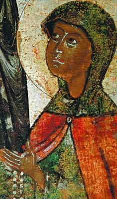 Иулиания Лазаревская. Фрагмент иконы ...: www.pravenc.ru/text/1237859.html