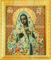 Калужская икона Божией Матери. Посл. треть XVIII в. (Троицкий собор, Калуга)