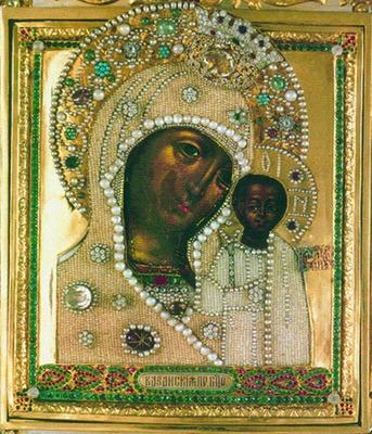 Картинки по запросу фото казанской иконы находящейся в елоховском соборе в москве