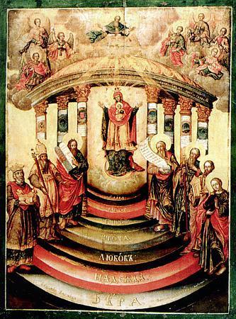 Иконы Софии, Премудрости Божией (Киевской) (8 сентября по старому стилю) .