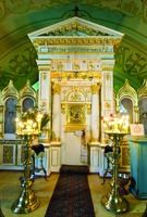 Касперовская икона Божией Матери в нижней ц. Успенского собора г. Одессы
