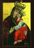 Креховско-Верхратская икона Божией Матери. 2-я пол. XVII в. (Креховский мон-рь)