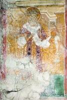 Сщмч. Кириак, еп. Иерусалимский. Роспись ц. Вознесения мон-ря Дечаны. 1348–1350 гг.