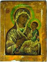 Грузинская икона Божией Матери. XVII в. (ц. св. Мартина Исповедника, Москва)