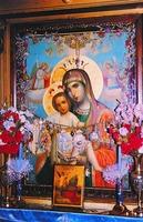 Икона Божией Матери из мон-ря во имя святых Марфы и Марии в Вифании