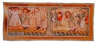Крещение и мученическая кончина св. Бонифация. Миниатюра из Требника. XI в.