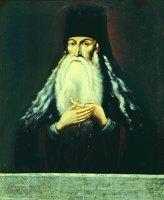 Прп. Паисий (Величковский). Портрет. Неизв. художник. Кон. XVIII в. (ЦАК МДА)
