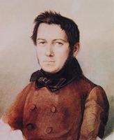 М. И. Глинка. Портрет худож. К.П. Брюлова. 1840 (?) г.
