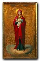 Валаамская икона Божией Матери. XIX в.