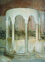 Фиал в крипте базилики вмч. Димитрия в Фессалонике. 2-я пол. V в.