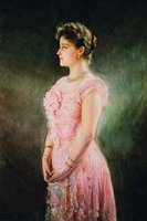 Вел. кнг. Елисавета Феодоровна. Портрет. 1901 г. Худож. В. К. Штемберг (ГТГ)
