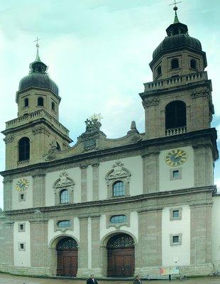 78b572b5c04 Церковь Св. Троицы в Инсбруке. 1627-1640 гг.