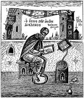 Диадох, еп. Фотикийский. Гравюра. 1956 г.