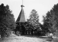 Церковь во имя свт. Николая Чудотворца в Варнавиной пуст. 1666 г. Фотография. 1908 г.