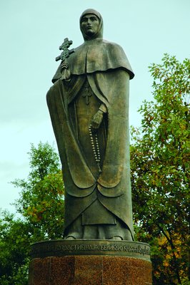 Памятники ефросиньи полоцкой в минске и полоцке памятник из гранита или мрамора что лучше 2018