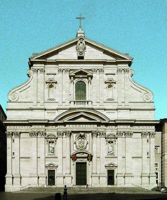 2897db14bd4 Церковь Иль-Джезу в Риме. Архитекторы Дж. да Виньола и Дж. Делла