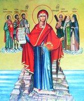 Икона божией матери игумения св горы