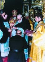 Монашеский постриг в Свято-Пантелеимоновом мон-ре