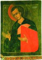 Вмч. Димитрий Солунский. Икона. Ок. 1572 г. (КБМЗ)