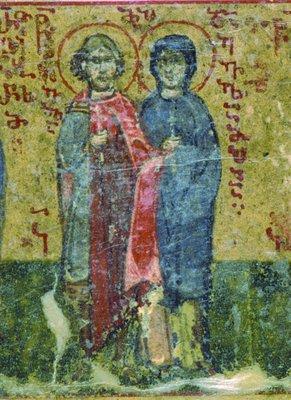 Saint Eulampe et sa sœur sainte Eulampée, martyrs à Nicomédie (310)