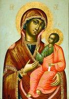 Иверская икона Божией Матери. 1699 г. Иконописец Кирилл Уланов (ГММК)