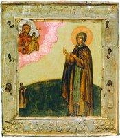 Прп. Евфросиния Суздальская. Икона. 1692 г. (ГИМ)