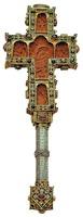 Напрестольный крест. 1593–1615 гг. (Иверский мон-рь)