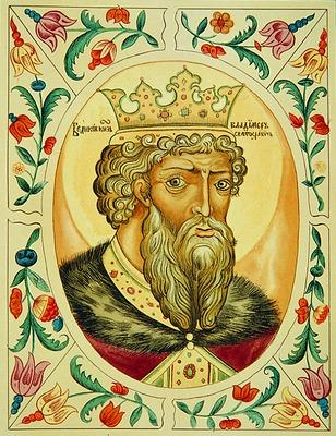 Где принимал крещение князь владимир