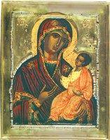 Иверская икона Божией Матери. 60-е гг. XVII в. (ГИМ, музей «Новодевичий монастырь»)
